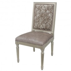 ANTIQUE GOLD DINING CHAIR -