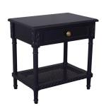 POLO BLACK SIDE TABLE - 48118