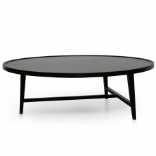CCF2215-IG 110cm Round Coffee Table - Black