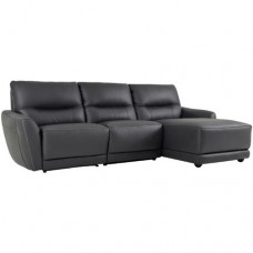 Camellia 3 Seater RHF Chaise - Dark Gre