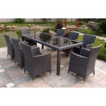 Cooma 9-Piece Outdoor Dining Setting