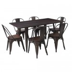 Loft 7PC Dining Set