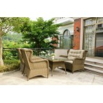 Rye 4-Piece Outdoor Lounge Setting