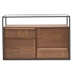 NORMAN CONSOLE TABLE - WALNUT